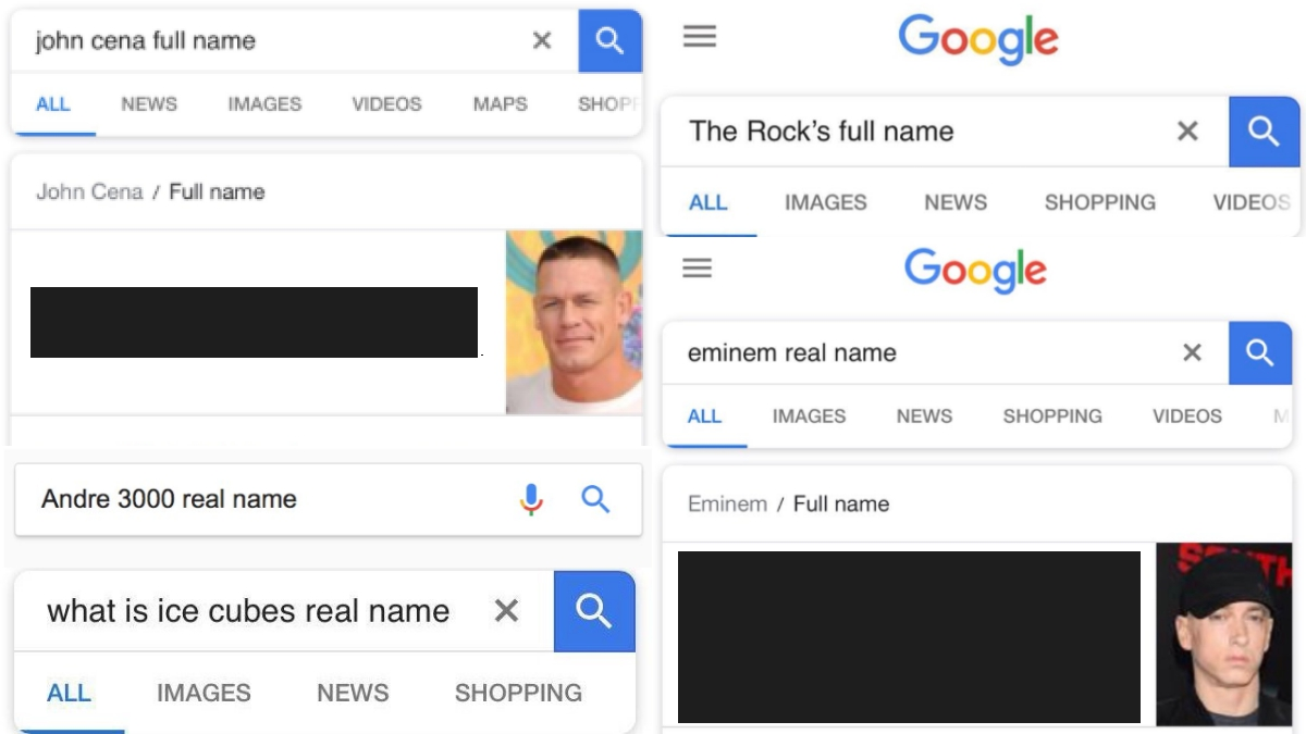 the most hilarious fake celebrity google names online rn fhm ph