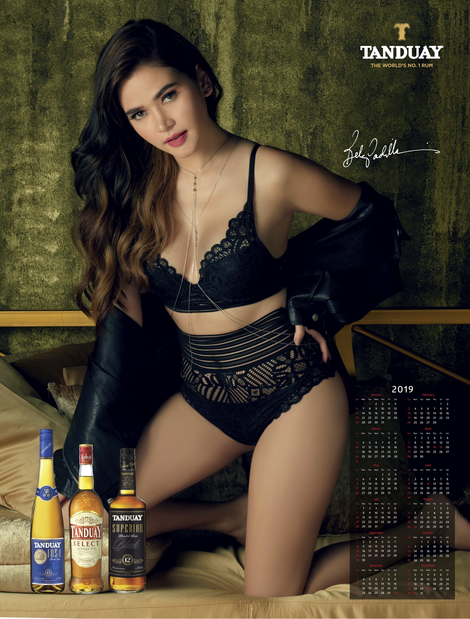 2019 FHM Official Calendar nude (25 photo), Tits, Is a cute, Feet, butt 2019