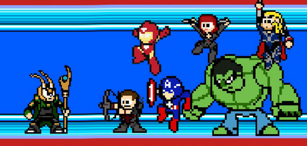 This 8-Bit Version Of The Avengers Movie Is Awesomely Old School!