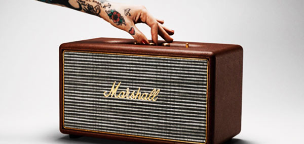 #Rakenrol: Check Out This Vintage-Looking Marshall Stanmore Brown Speakers!