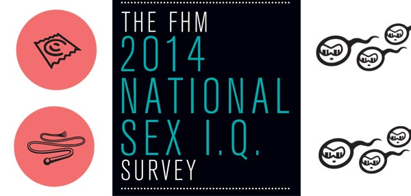 The FHM  2014 National Sex I.Q. Survey
