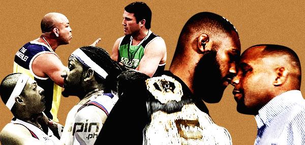 #Kalma: 8 Sports Staredowns That Went Ugly!