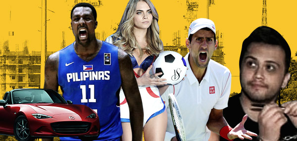 FHM's Best Of The Weekend: The Miata Is As Sexy As Ever, A Victoria's Secret Girl Endorses A Filipino Brand, And FIBA Backs Up Blatche Eligibility