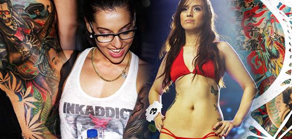 #Dutdutan14: Tattooed Babes Steal The Show!