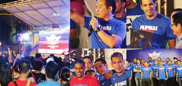 #Bayani: FHM Goes To The Gilas Pilipinas Street Party!