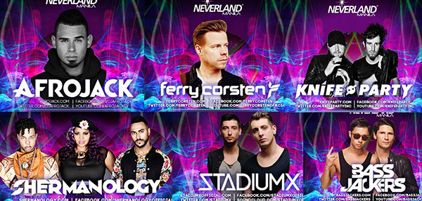 Neverland Manila: A Power Preview To Get You Warmed Up For This Party!