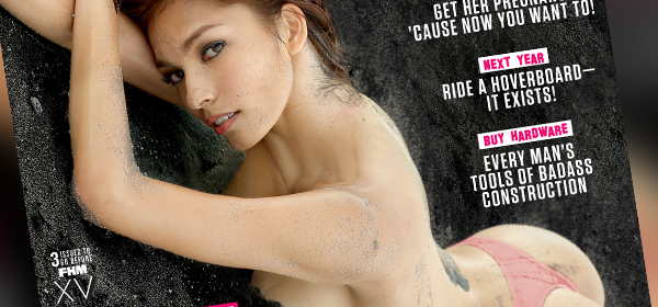 Andrea Torres Is FHM's December 2014 Cover Girl!