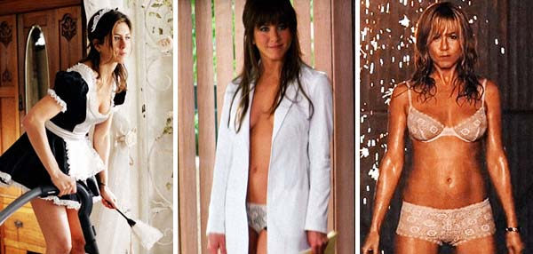 A Power Ranking Of Jennifer Aniston's Sexiest Movie Moments
