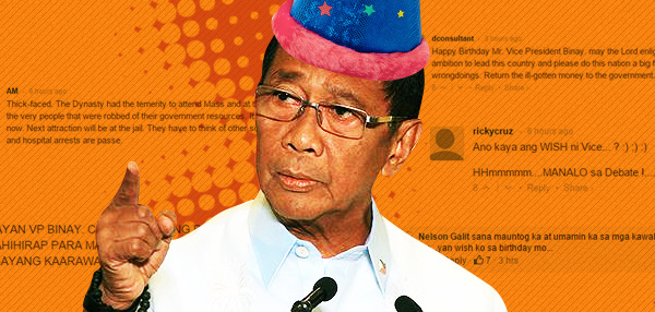 Happy Birthday, VP Binay: Netizens Reveal Their Birthday Wishes