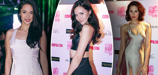 FHM Goes Babe Spotting At Cosmo's 8 Sexiest Models For 2014 Party!