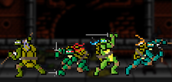 The 8-Bit Version Of The Teenage Mutant Ninja Turtles Movie Is Better For Gaming Than Viewing!