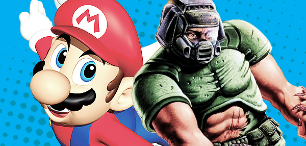 Geeks Combine Doom and Super Mario—And The Result Is Awesome!