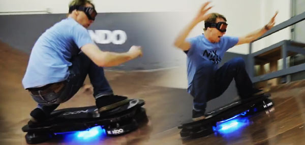 Awesomeness Overload: Tony Hawk Rides The World's First Hoverboard!