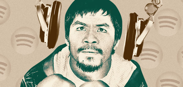 The Mixtape Of Champions: What Manny Pacquiao Listens To Before His Fights