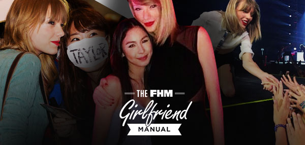 The FHM GF Manual: How To Deal With Her Obsession With Taylor Swift