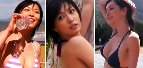 FHM's Sexy GIFs To End The Week: Nao Nagasawa In A Bikini Makes Un-Sexy Things Look Sexy!
