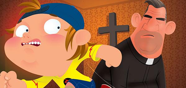 FHM Bar Room Jokes: God Is Missing