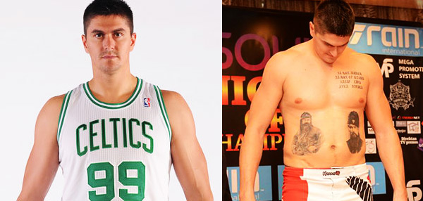 WATCH: Former NBA Second Overall Draft Pick Darko Milicic Is Now A Kickboxer!