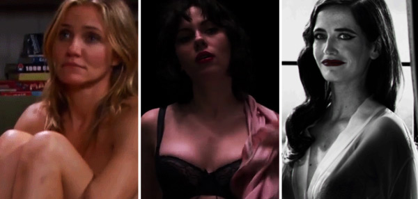 NSFW: 2014's Most Memorable Nude Movie Scenes All In One Video!