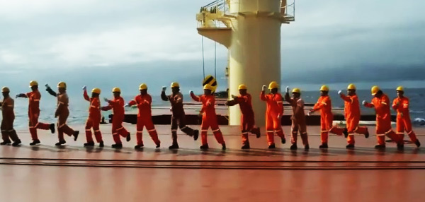 WATCH: These Pinoy Seamen Have The Most Amazing Dance Moves Ever