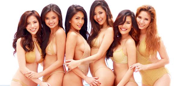 SNEAK PEEK: FHM x Tanduay's Summer-Themed 2015 Calendar!