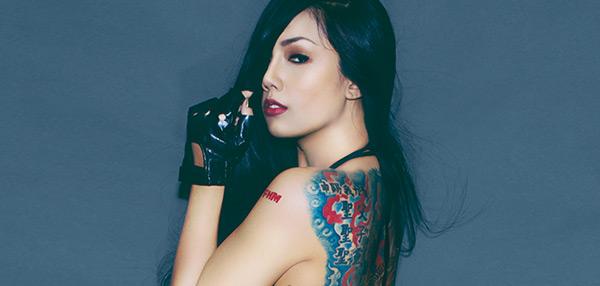 Yuna Salazar - FHM December 2014