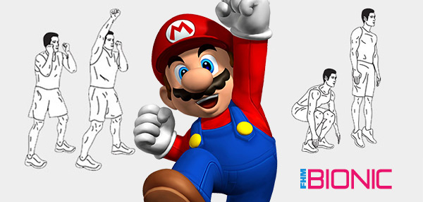 Here's To The New You: Work Out Like Super Mario!