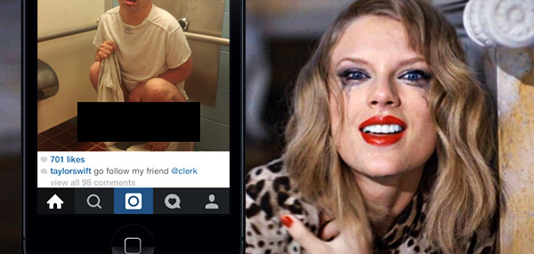 HACKED: Taylor Swift's Instagram Account Vandalized With Toilet Photo