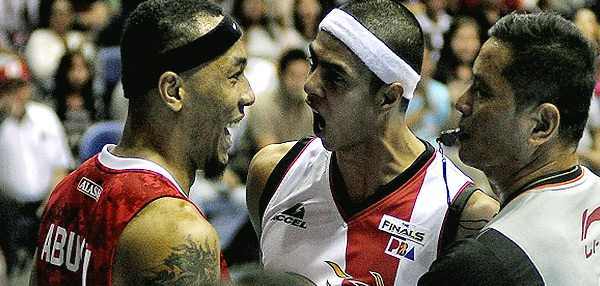 Arwind Santos Vs. Calvin Abueva: Someone May End Up In The Hospital Before The PBA Philippine Cup Finals Is Over