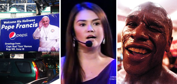 FHM's Best Of The Weekend: Epal Tarps Attack, Angelica Panganiban Spoofs Angel Locsin, And Pacquiao-Mayweather Sets Venue