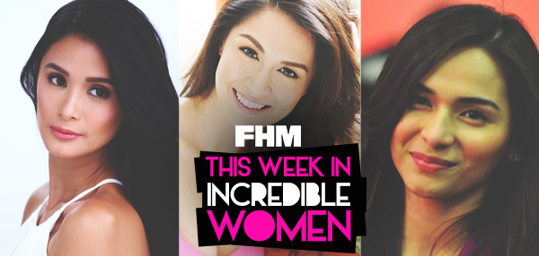 This Week In Incredible Women: Heart Makes Art History, Marian Recalls The First Time She Met Dingdong, And Jennylyn Vouches For Her Own Show!