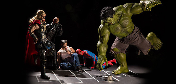 LOOK: This Is What Your Action Figures Do When You're Not Looking