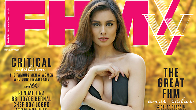 Max Collins Is FHM's 15th Anniversary Cover Girl!