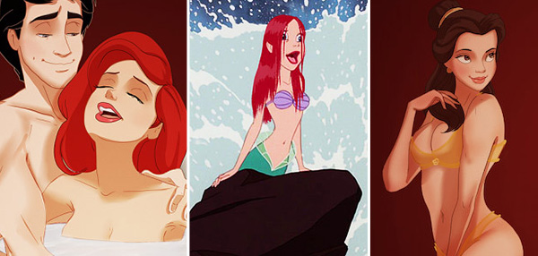 CHILDHOOD RUINED: What If Disney Princesses Were Re-Imagined As...
