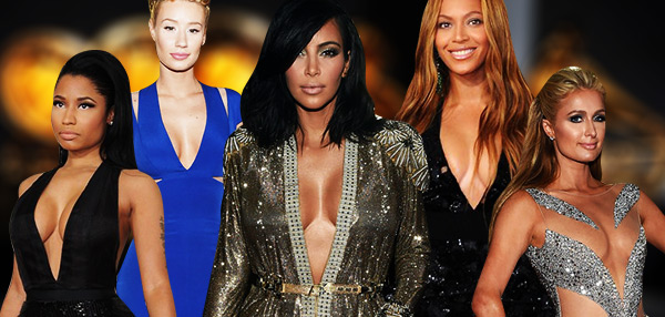 The 57th Annual Grammy Awards: Best In Cleavage!