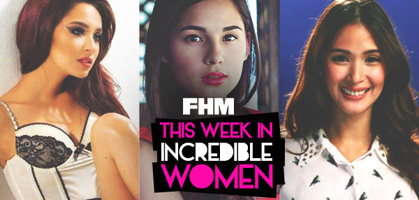 This Week In Incredible Women: Ryza Condemns Showbiz Guys, Jasmine Reveals Her V-Day Schedule, And Heart Tries On Her Wedding Gown