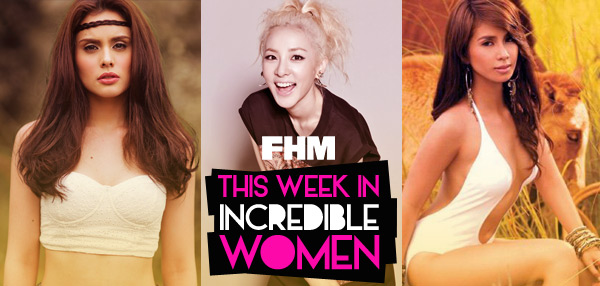 This Week In Incredible Women: Max's Tagalog Is Getting Really Good, Sandara Pushes For A Movie With John Lloyd, And Kaye Vouches For Her Man!