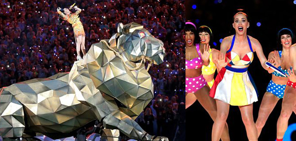 Katy Perry's Trippy Super Bowl XLIX Halftime Performance...In GIFS!