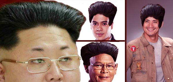9 Pinoy Celebrities If They  Had Kim Jong Un's Glorious Haircut