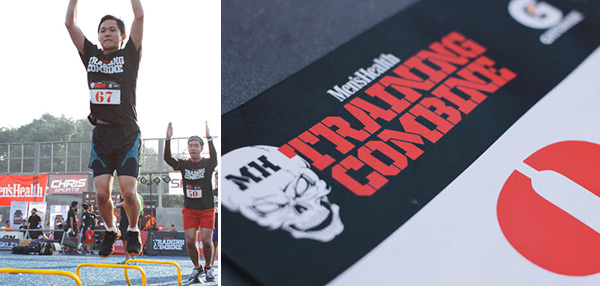 IN PHOTOS: FHM Sweats It Out At The Men's Health Training Combine!