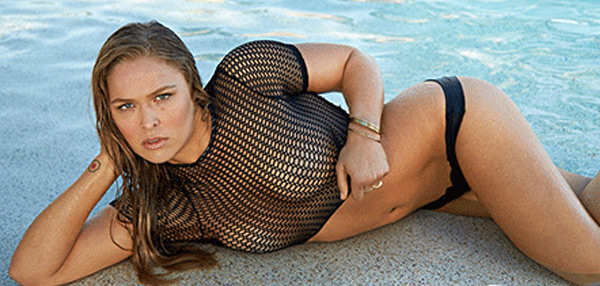 HOT STUFF: Ronda Rousey Disrobes For Sports Illustrated Swimsuit Issue!