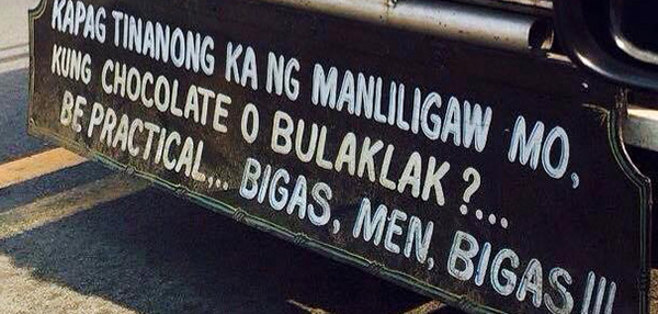 SPOTTED: 10 Hilarious Pinoy Signs About Love, Relationships, And Everything In Between