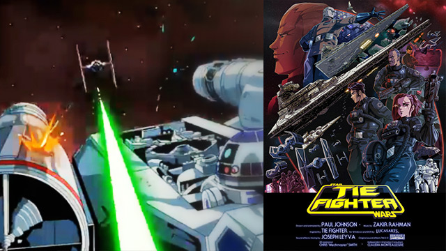 Animated Short Shows What It Was Like To Be The Bad Guys In Star Wars' Epic Space Battles