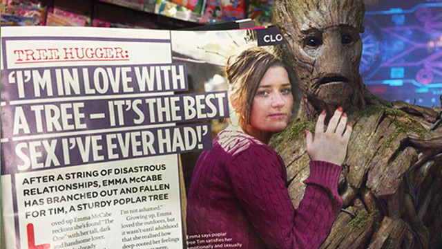 Today In Weird Sex News: Woman Hooks Up With A Tree, Describes It 'The Best Sex She's Ever Had'