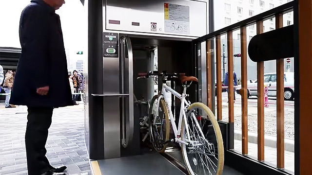 WATCH: This Underground Automated Bike Parking System Makes Us Want To Ride In Japan
