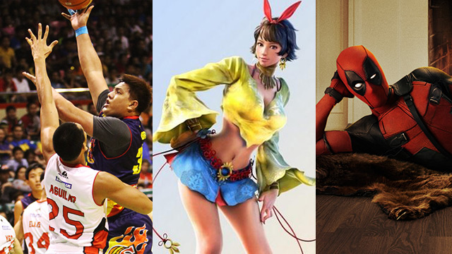 FHM's Best Of The Weekend: Tekken's Pinay Character, That Crucial Ginebra Non-Call, And Look, It's Deadpool!