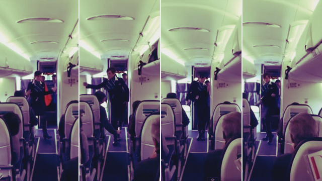 WATCH: Flight Attendant Busts Out Funky Hip Hop Moves!
