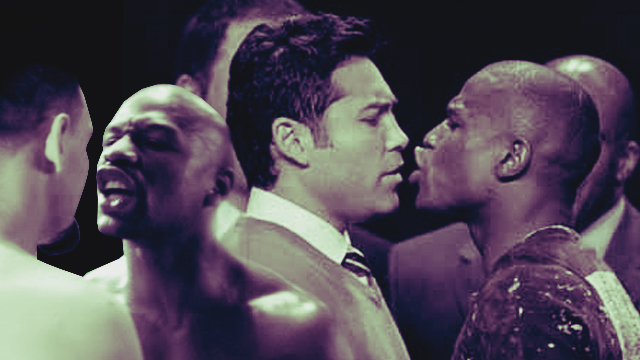 #PressConOfTheCentury: Mayweather's Face-Off Antics (That We Didn't See Against Pacquiao)