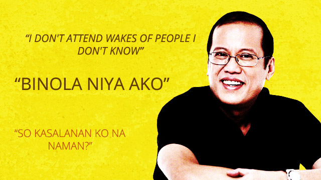 10 Terms And Statements That Will Define P-Noy's Administration