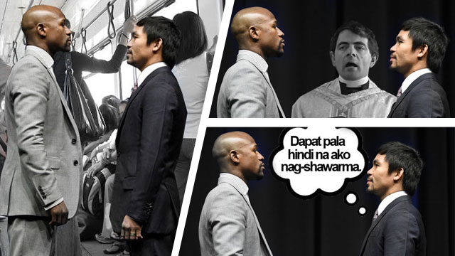 #PressConOfTheCentury: Why Pacquiao And Mayweather Stood So Far From Each Other During Their Face-Off!